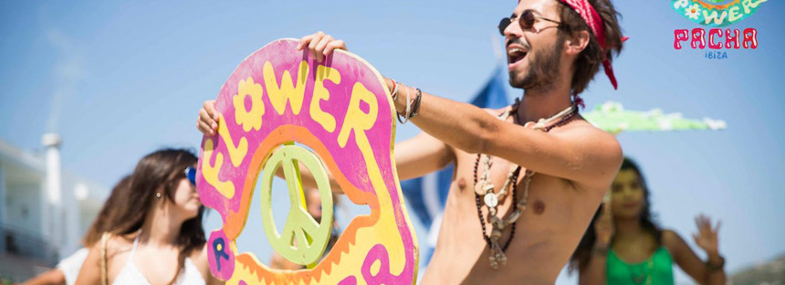 37 years of Flower Power at Pacha Ibiza