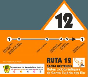 ruta 12: ciclismo Ibiza