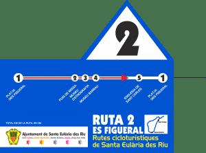 ruta 2 ciclismo Ibiza