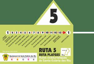 ruta 5. ciclismo Ibiza
