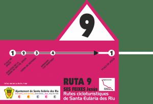 Ruta 9: ciclismo Ibiza